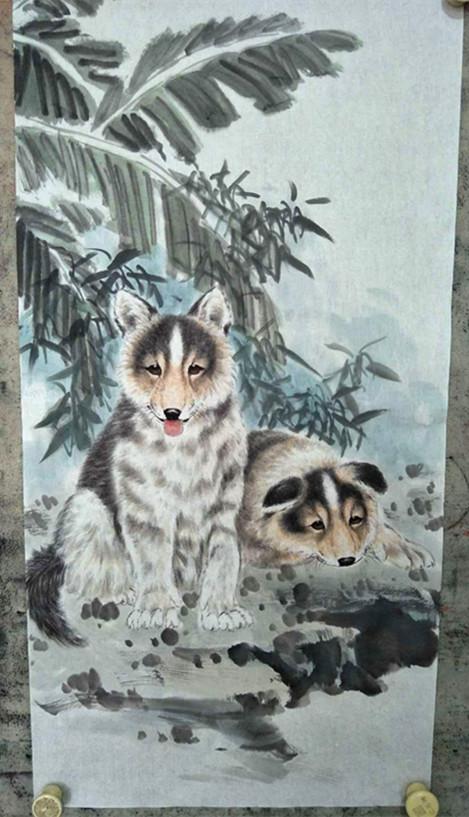 书画中国:瑞雪将至送旺财祝您新年好运来