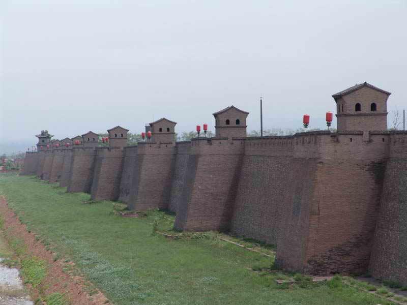 中国四大古城 平遥古城图片